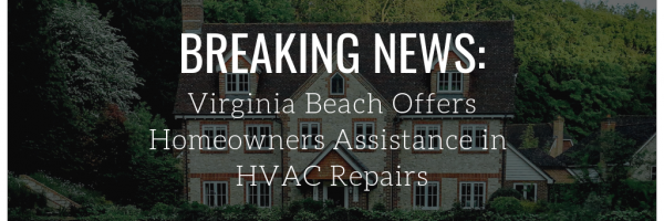 Virginia Beach Program Helps Homeowners with HVAC Costs