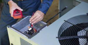 HVAC unit maintenance
